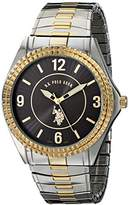 U.S. Polo Assn. Classic Men's USC80025 Two-Tone Analogue Dial Expansion Watch