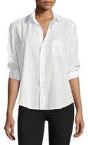 Frank And Eileen Eileen Button-Front Long-Sleeve Check Shirt