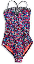 Raisins Girls 7-16 Girl's Floral One-Piece Swimsuit