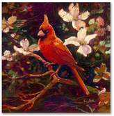 Cardinal Limited Edition Numbered & Hand Signed Fine Art by Simon Bull