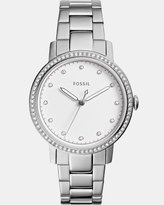 Fossil Neely Silver-Tone Analogue Watch