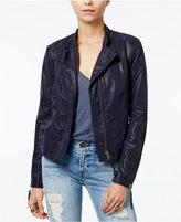Free People Faux-Leather Moto Jacket