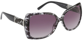 Rocawear Women's R3191 Animal Print Cat Eye Sunglasses