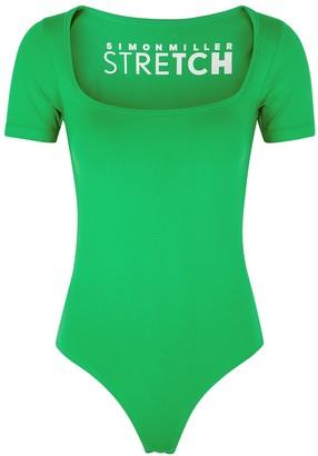 Simon Miller Eero green stretch-jersey bodysuit