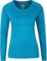Mountain Warehouse Panna Women's Long Sleeved top - UV Protected, IsoCool Fabric with Lightweight, Breathable & Quick Drying - Ideal for Travelling, Walking, Gym or Running