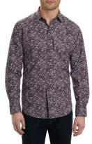 Robert Graham Paisley Print Casual Button-Down Shirt