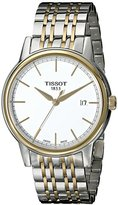 Tissot Men's T0854102201100 Carson Analog Display Swiss Quartz Two Tone Watch