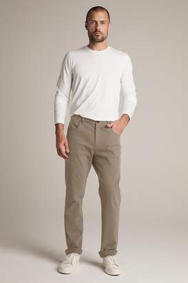 Velvet by Graham & Spencer STEWART SUEDED COTTON PANT