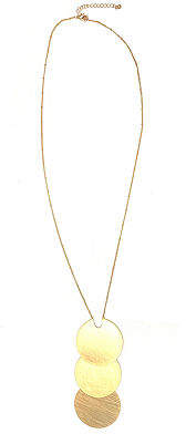 Bijoux Bar 15 Inch Link Chain Necklace