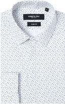 Kenneth Cole Itami Slim Fit Geometric Print Shirt