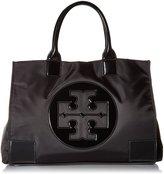 Tory Burch Womens Nylon Patent Leather Ella Tote BAG