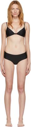 Matteau Black Tri Top Briefs Bikini