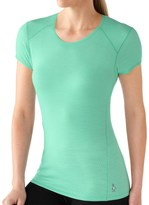 Smartwool NTS Micro 150 Base Layer Top - Merino Wool, Short Sleeve (For Women)