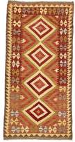 """3.1 Phillip Lim One-of-a-Kind Doorfield Hand-Knotted Runner 3'1"""" x 6'4"""" Wool Brown/Red/Beige Area Rug Isabelline"""