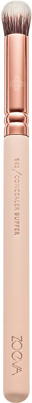 Rose Golden 142 concealer buffer brush