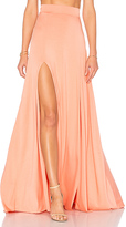 Rachel Pally Josephine Maxi Skirt in Peach. - size M (also in S,XS)