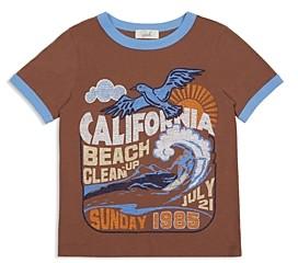 Peek Boys' Isaac Beach Clean Ringer Tee - Little Kid, Big Kid