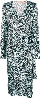 Andamane Carly printed wrap dress