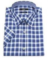 Boss Luca 4 Short Sleeved Check Shirt