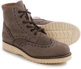 Frye Arkansas Wedge Lace Wingtip Boots - Nubuck, Vibram® Outsole (For Men)