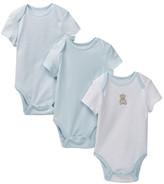 Little Me Bear Prince Bodysuit - Pack of 3 (Baby Boys)
