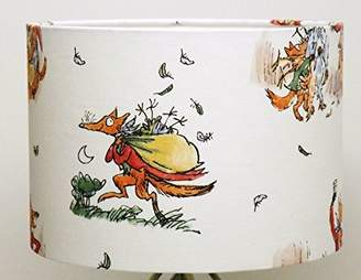 "8"" Childrens Roald Dahl, Table Lamp Shade FANTASTIC MR FOX"
