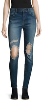 J Brand Maria High-Rise Distressed Skinny Jean