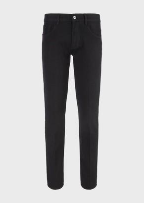 Giorgio Armani Slim-Fit Jeans In Japanese Denim