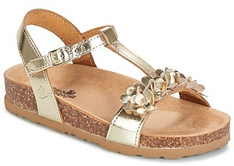 Citrouille et Compagnie KAPIBA girls's Sandals in Gold