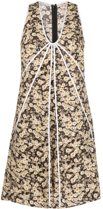 Stella McCartney Daisy Print Shift Dress