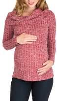Women's Nom Maternity Ophelia Cowl Neck Maternity Sweater