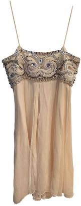 Temperley London White Silk Dresses