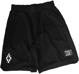 Marcelo Burlon County of Milan Black Polyester Shorts