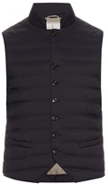 Brunello Cucinelli Quilted Water-resistant Gilet