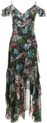 Peter Pilotto sleeveless ruffle floral print dress