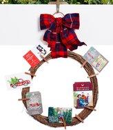 Southern Living Nostalgic Noel Collection Grapevine Wreath Card Holder