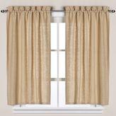 S.O.H.O New York Linen Bath Window Curtain Tier Pair