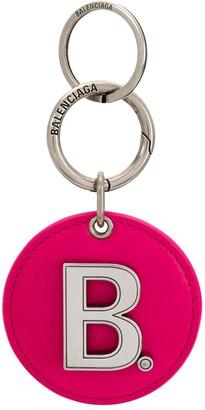 Balenciaga Mirror Logo Keyring