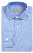 Canali Men's Regular Fit Houndstooth Dress Shirt