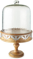 """GG Collection G G Collection 21"""" Serving Pedestal with Dome"""