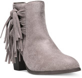 Fergalicious Clover Fringe Ankle Booties