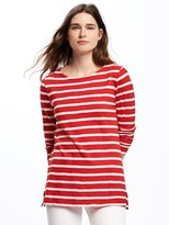 Old Navy Relaxed Boat-Neck Tee for Women
