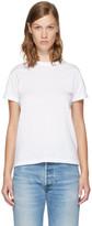 Alexander Wang White Superfine Jersey Crewneck T-Shirt