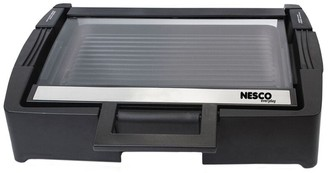 Nesco Electric Grill with Glass Lid