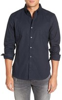 French Connection Trim Fit Woven Sport Shirt