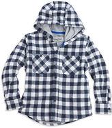 Sovereign Code Boys 2-7 Checkered, Herringbone Textured Shirt