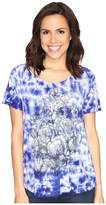 Lucky Brand Floral Washed Tee