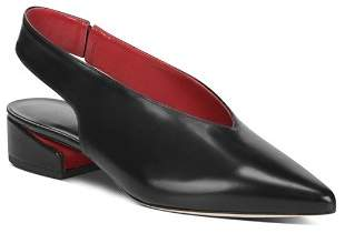 Via Spiga Women's Darwin Pointed Toe Slingback Pumps