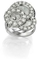 Chopard Happy Dreams Diamond, Mother-Of-Pearl & 18K White Gold Ring
