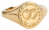 Laura Lee Jewellery Love Unites Us Ring - Gold